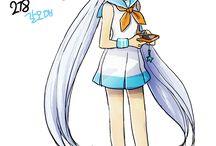 Pokemon Gijinka I like
