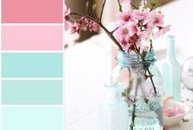 Color palette - design seeds / Color palette inspiration for design, illustrations, decor, interior, wedding, creative projects or outfit. Color scheme and combo. Paint colors combinations