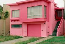 Maisons Roses (couleur de février)