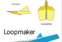 BoredomBusters: Paper airplane folding / by Sarah Hamacher