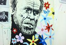 There´s a Bluebird in my Heart / 1. November – 22. November 2014 //  Abetz & Drescher - Neal Fox - Ivar Kaasik - Wolfgang Neumann - Tim Plamper // Opening  Saturday, 1 November 2014, 7 – 9 pm @Egbert Baqué Contemporary Art, Fasanenstr. 37, 10719 Berlin