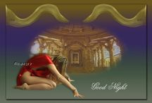 Good Night Graphics / This is from my other blog https://manjoree.blogspot.com. The blog is all about Graphic Design. Created in Paintshop Pro and Photoshop by my husband. Just for pleasure of your eyes.