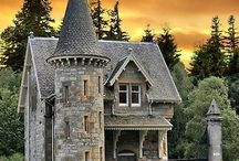 tower houses/ castles