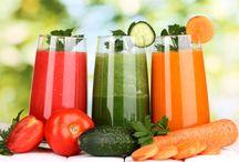 ❤️DETOX JUS DE FRUITS/LEGUMES❤️ SMOOTHIES * TISANES / Les jus qui guèrissent. Smoothies santé. Les bienfaits des tisanes