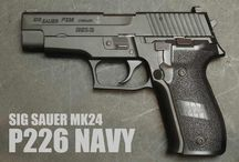 Top 10 Guns I Want! / Guns on my wish list.    / by Jeff Hardegree