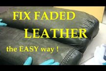 Fix FADED leather the easy way. / FIX FADED LEATHER