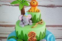 Szafari torták