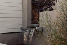 Ścianka wodna, woda w ogrodzie