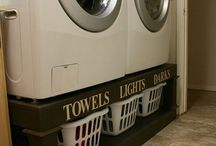 Laundry Rooms We Love / by America In-Home