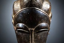 Скульптура - маски