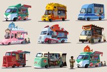Vehicles / by Lucas Redfern Brooking