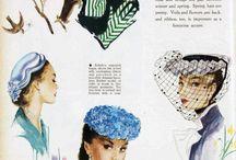 vintage - klobuky