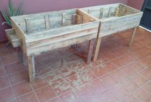 mesa huerto
