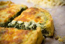 recetas de cocina / pastel de espinacas