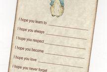 Peter Rabbit card
