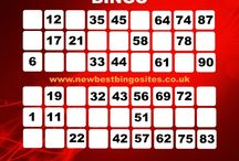 Great Bingo Cards / Bingo cards are used for people to select a range of numbers and mark it is if their number gets pulled out!