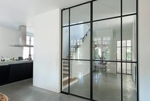 walls of glass/sliding doors
