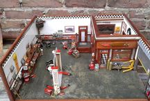 Diorama Car Garage