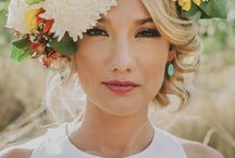 Flower Crowns for Brides / Beautiful headpieces made of flowers and greenery, perfect for a boho bride!