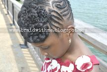 hairstyles / by Denoltra Brown