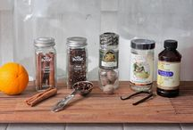 Potpourri ideas / Recipes and ideas using dried fruit and spices.