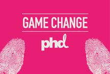 """Game Change / PHD's 2014 release of Game Change explores some of the truly revolutionary initiatives in """"GAMIFICATION"""" in this newly built digital economy It unpicks the compelling mechanisms in play and offers insights on putting theory into practice. Your journey through this challenging world begins on page one."""