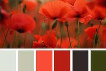Kleurenschema bruiloft