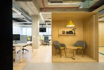 Офисные общественные интерьеры