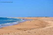 The beaches of East Algarve / The vast and wild sandy island beaches of the UNESCO-protected Ria Formosa Natural Park