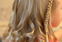 Caitlyn's hair / by Brandi Varnes