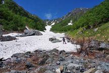 北岳(南アルプス)登山 / 北岳の絶景ポイント 南アルプス登山ルートガイド。Japan Alps mountain climbing route guide