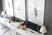 White + Gray Workspace