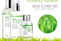 Yufit Eon Natural Wheat Gem Skin Care Set (Skin&Lotion&Essence)