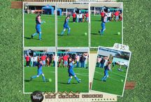 Sports Scrapbook Layouts Pages