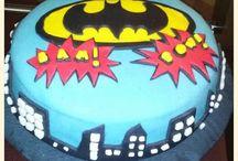 Cakes Batman / Tortas Fondant