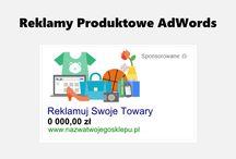 Reklamy produktowe Google AdWords / Kampanie produktowe Google są dedykowane reklamodawcom e-commerce. Dzięki reklamom produktowym, sklepy internetowe mają możliwość wyświetlania oferowanych towarów w ubogaconej formie na stronach wyników wyszukiwania Google. Formaty reklam zawierają bowiem informacje o cenie, nazwie sprzedawcy i co najważniejsze, zawierają zdjęcie produktu.
