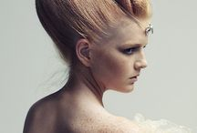 Makeup fashion hairdo