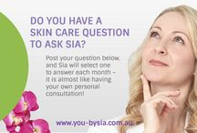 Did You Know? Skin Care Tips from Sia Hendry / Each month Sia Hendry will provide answers to your skin care questions here – it is almost like having your own personal consultation! #DidYouKnow @YouBySia