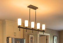 Home Lighting by DF Design, Inc. / Light fixtures selected for specific Design Plans by Dennis Frankowski, Interior Designer for DF Design, Inc.