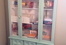 REPAINTED - BUFFETS AND HUTCHES / by Elisabeth Crowe