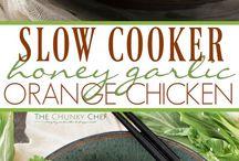 Slow cooker eats!