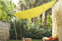 Love a canopy / Let's create some shade in your plot.