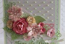 Crafts - Cards - Fancy, Embellished, Lacy / by Debbi Logan
