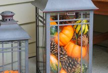 Fall Outdoor Decorating / Everything decorative for the outside of your home that reminds you of fall