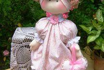 muñecas de trapito