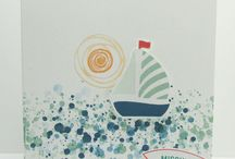Boat Cards using Stampin Up! products