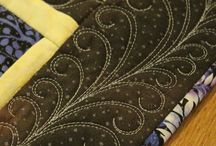 Quilt Motifs and Free Motioning / quilting