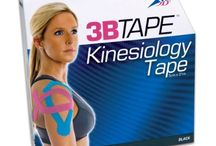 Kinesiology Taping / Kinesiology Tape is used to treat sore muscles, tendinitis & to help accelerate lymphatic drainage.    3B Scientific's 3BTape is made from cotton rayon fibre and is latex-free, hypoallergenic & water resistant.