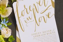 Paper / Paper and beautiful scripts for your business design, special event, or wedding.