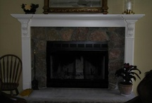 fireplace mantle / by Collette Lake